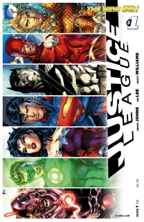 Justice League #1 (8th Printing) Cover