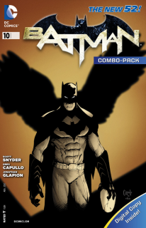 Cover - Batman #10 (Combo Pack Edition)