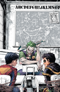 Cover - Super Sons #1 (Unknown Comics Joker Detention Variant)