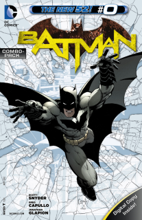 Cover - Batman #0 (Combo Pack Edition)