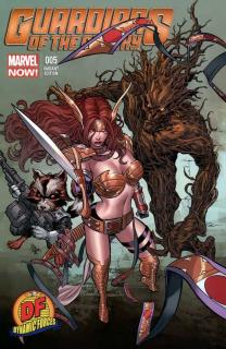 Cover - Guardians of the Galaxy #5 (Dynamic Forces Edition)
