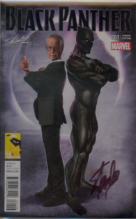 Black Panther- A Nation Under Our Feet #1 (Stan Lee Collectibles/MEFCC Edition) Cover