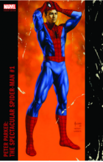 Cover - Peter Parker: The Spectacular Spider-man #1 (Jusko Variant Cover)